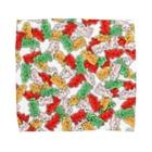 奇舌可愛百貨SUZURI支店のぎっしりPATIMO Towel handkerchiefs