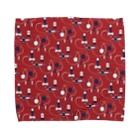 akaneyabushitaの【日本レトロ#09】けん玉 Towel handkerchiefs