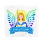 Angel channeling Art 天使のお部屋の大天使ミカエル Towel handkerchiefs