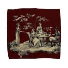 J. Jeffery Print Galleryのトワルドジュイ Toile de Jouy Towel handkerchiefs