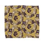 karhu designのトリとチョウB Towel handkerchiefs
