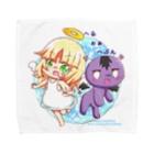 ひよこめいぷるのへるぉぁへぶん×ひよこめいぷる Towel handkerchiefs