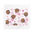 モグランドショップのキュートなモグ Towel handkerchiefs