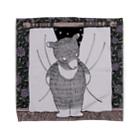 ふじはら むつみの紫苑とクマ🧸 Towel handkerchiefs