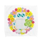 まるちの花輪ロボット Towel handkerchiefs