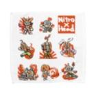 NITROHEAD_JPの[ニトロヘッドくん]シリーズ Towel handkerchiefs