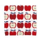 yumeyumeの北欧柄リンゴ Towel handkerchiefs