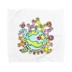 solfeel ソル・フィールの地球わくわくプロジェクト Towel handkerchiefs