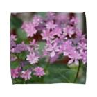 tazzberry.japanの雨の紫陽花 Towel handkerchiefs