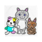 ksのファミリー Towel handkerchiefs