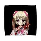 江崎びす子のスズリのYANDERE BK Towel handkerchiefs