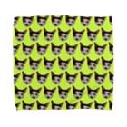 保護猫グッズ・パール女将のお宿のnyaowanco家グッズ Towel handkerchiefs