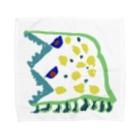 なんでも恐竜のフタリュウ  Towel Handkerchief