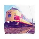 ELECTRICLADY LABOの電車雷鳥 Train mania Towel handkerchiefs