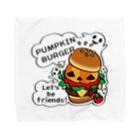 *suzuriDeMonyaa.tag*のCT14 Gz かぼちゃバーガーA Towel handkerchiefs