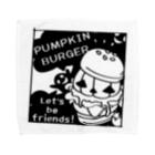 *suzuriDeMonyaa.tag*のCT14 Gz かぼちゃバーガーD Towel handkerchiefs