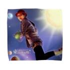 東京夜間飛行★たまび琴子ショップ:原真善美一人芝居キャラクターの東京夜間飛行:琴子:チラシ Towel handkerchiefs