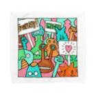 cementmilk WEBショップの毎日イラストセレクション No.002 Towel handkerchiefs