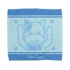 ヤシログラムショップのスタンプ柄 チウッチ・ウッチ Towel handkerchiefs