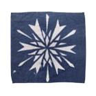 wanoiroの雪ノ結晶 Towel handkerchiefs