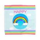 ひじりやノエルのHAPPY【虹色HAPPYレインボー】 Towel handkerchiefs