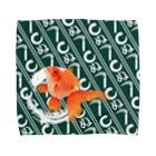 kawacocoのかまわぬ金魚A Towel handkerchiefs