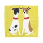 やたにまみこの ema-emama『ウィペット』 Towel Handkerchief