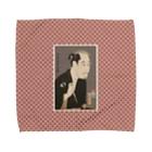 Rigelの尾上松助の松下造酒之進 タオルハンカチ Towel handkerchiefs