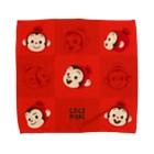 ココモンのココモンタオルハンカチL_B Towel handkerchiefs