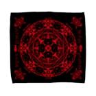 PygmyCat suzuri店の猫召喚魔法陣赤(Lサイズ専用) Towel handkerchiefs