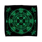 PygmyCat suzuri店の猫召喚魔法陣緑(Lサイズ専用) Towel Handkerchief