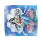 らんさんのテキトー手探り手抜きショップのパール Towel handkerchiefs