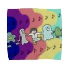 ぼんじりの雑貨やさんの🎶みんななかよし🎶 Towel handkerchiefs