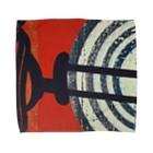 レターオールソーツのCircle work two Towel handkerchiefs