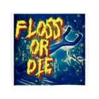Dr.COYASS  OFFICIALの歯科✖︎ROCK-フロスオアダイ Towel handkerchiefs