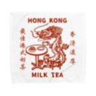 小野寺 光子 (Mitsuko Onodera)のHong Kong STYLE MILK TEA 港式奶茶シリーズ Towel Handkerchief