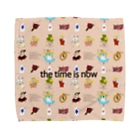 ATASHI in the darkのthe time is nowシリーズ Towel Handkerchief