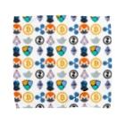ライターアケミンの仮想通貨Tシャツ Towel handkerchiefs