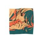 オリタノショップの添い寝 Towel handkerchiefs