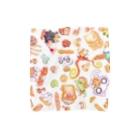 「おみせザウルス~UMA&UMA~」 セザールSHOPのパン×あにまる Towel handkerchiefs