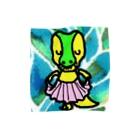 erichandmade × eric_joy_のぺこりティラノサウルスくん Towel handkerchiefs