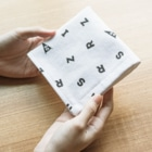 Official GOODS Shopのい,い,ゆ,だ,ニャーンコ Towel handkerchiefs