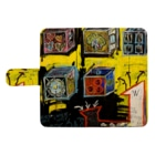DoiMayumiのPOP ART(それぞれの目的地)ウォレットフォンケース