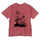 Itsu Horiguchiの配達中のひと Washed T-shirts