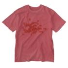 TATEYAMAのたゆたえど沈まず Washed T-shirts