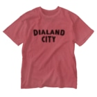 DIALAND LOVERSのDIALAND CITY BLACK Washed T-shirts