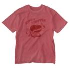 村田エリーのりんごストリッパー Washed T-shirts