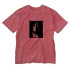 もぐもぐはうすのikti Washed T-shirts