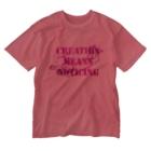 Kazumichi Otsubo's Souvenir departmentのAngel message ~ Creative means... Washed T-shirts