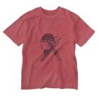 翠月灯@新LINEスタンプ販売中のフレントリースキー服 Washed T-shirts